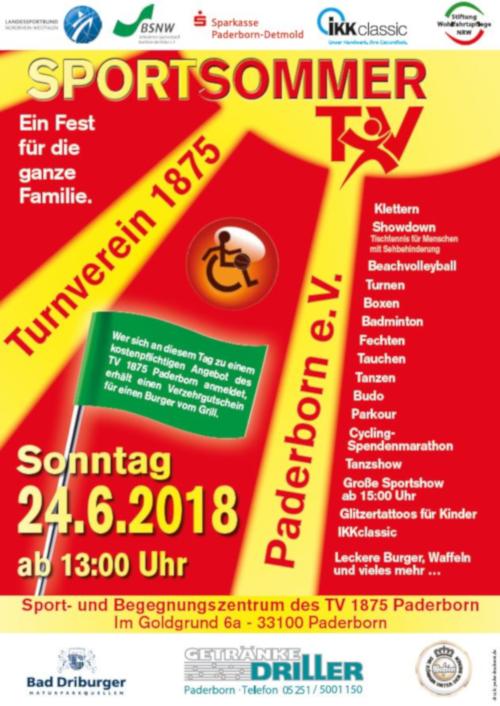 Turnverein 1875 Paderborn e.V.: Aktuelles / Termine